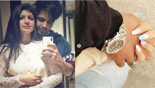 hardy sandhu shared picture on his girlfriend birthday