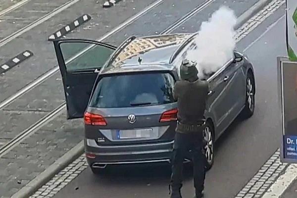 germany  gunman