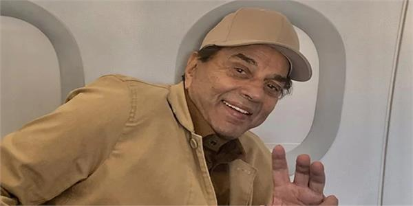 dharmendra after dengue scare    i  m hale and hearty
