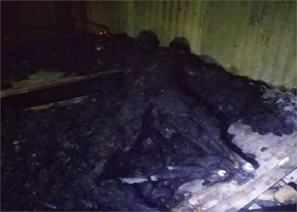 holi bajoli hydro project colony fire person death