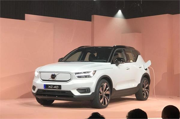 volvo unveiled all electric xc40 recharge suv