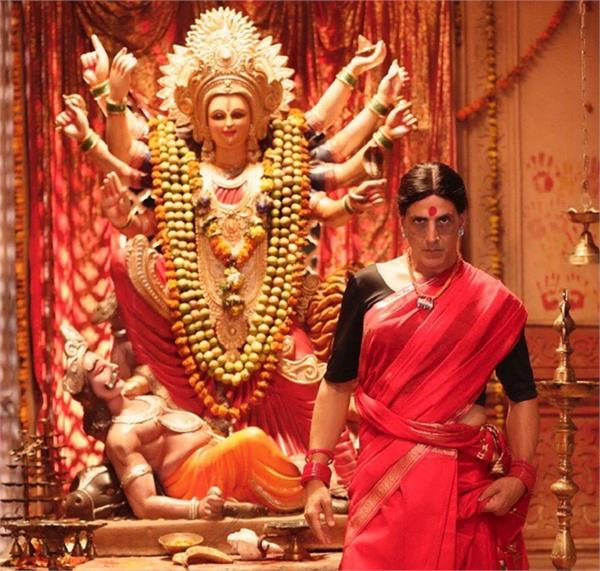 akshay kumar reveals his first look as transgender in laxmmi bomb
