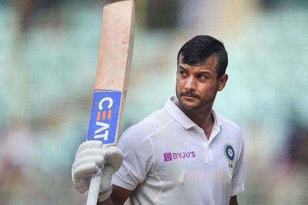 mayank agarwal hit a brilliant 2nd test century against south africa