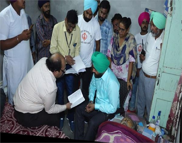 amritsar  parliament gurjit aujla  manjit singh  fateh singh colony