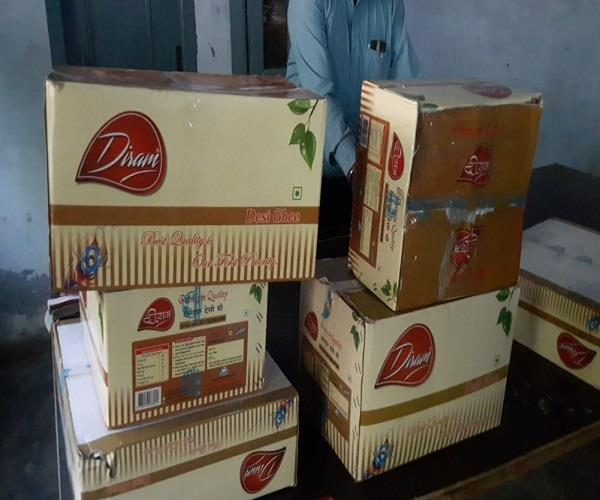 muktsar  health department  raid  fake desi ghee