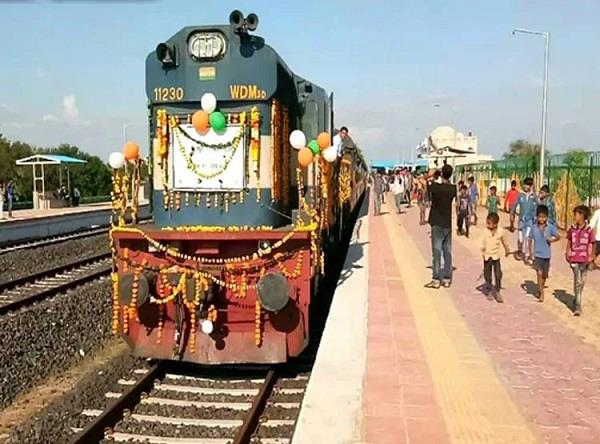 alirajpur first train after independence