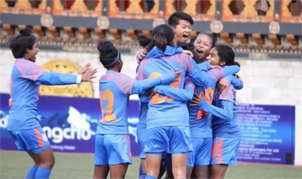 india beat nepal in the saff under 15 women  s championship