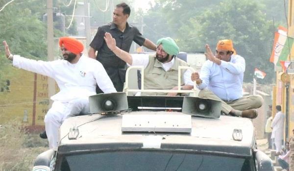 sukhbir singh badal captain amarinder singh