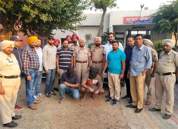 jagu bhagwanpuriya gang 2 gangsters arrested