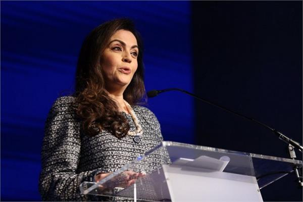 my dream is to watch the olympic and fifa world cup hosted by india  nita ambani