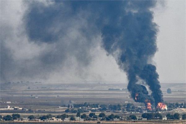 turkish civilian attacks kill 14 civilians in northeast syria