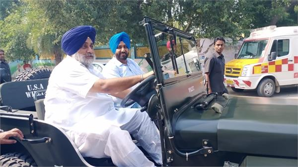 sukhbir badal fulfills congestion as soon as he gets busy