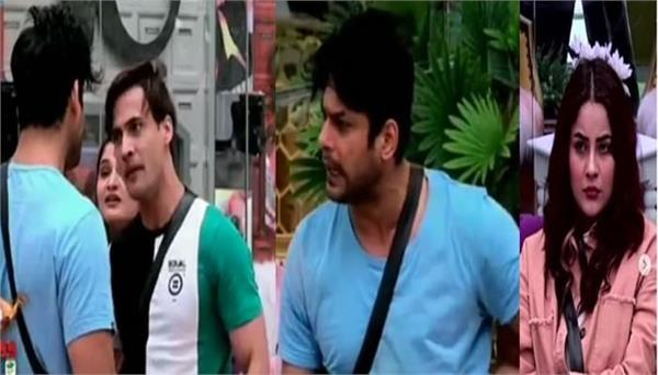 siddharth shukla and asim riaz have a major fight