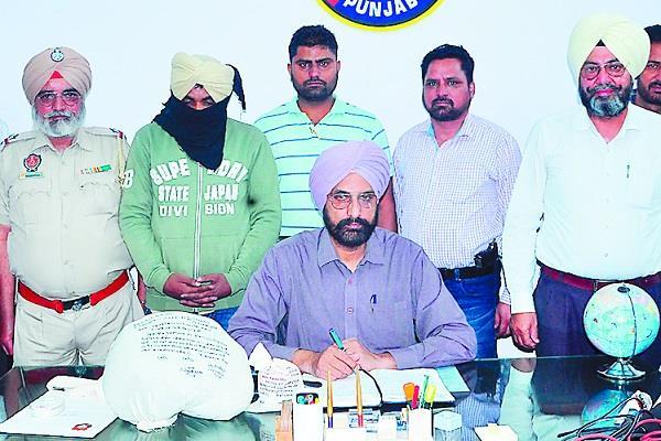 bathinda  heroin  smuggling  driver  arrested