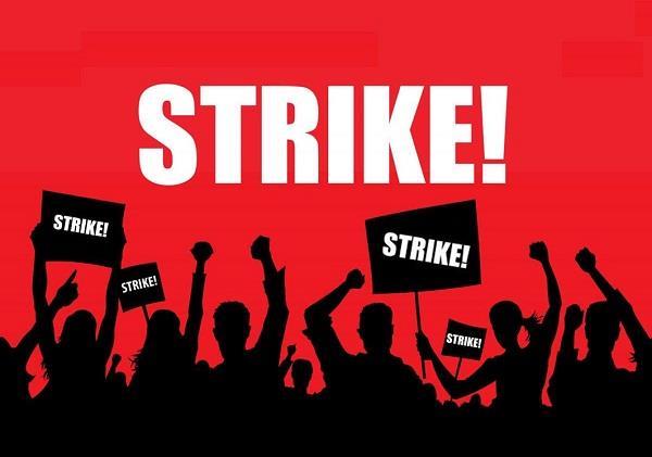 14 day prior notice mandatory to go on strike