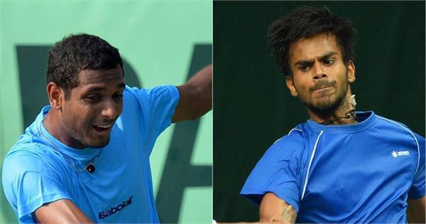 sumit nagal and ramkumar ramanathan confirm availability for davis cup