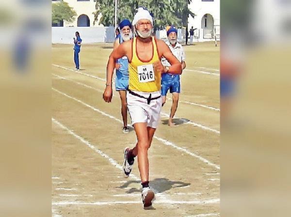 athletes bakhshish singh  race  died