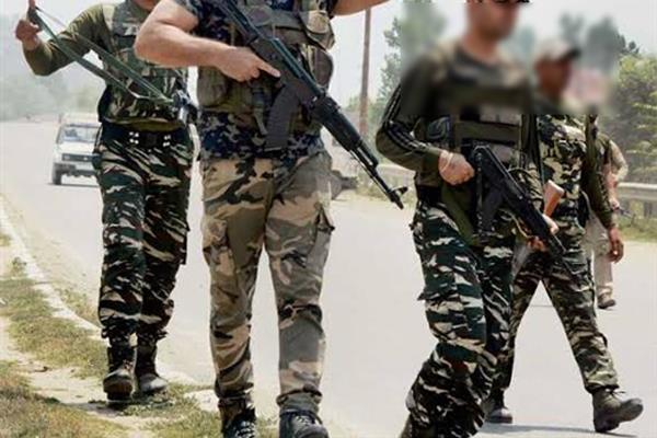 crpf in central jail