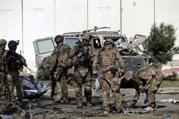 afghanistan suicide blasts 4 army personnel