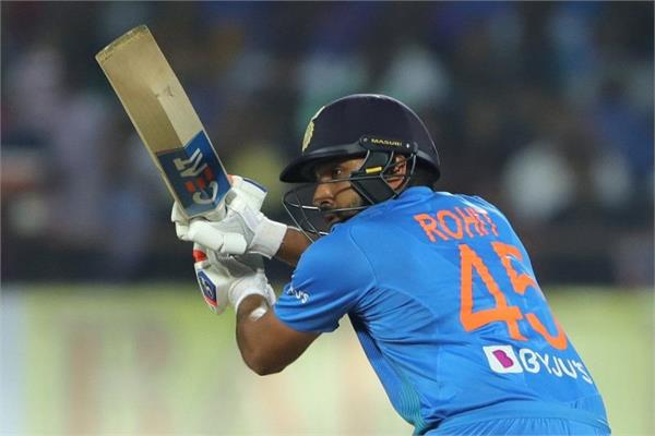 rohit sharma breaks shahid afridis record as player become 1s indian worldwide