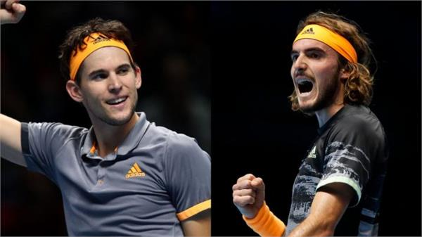 atp finals will be between the thiem and tsitsipas