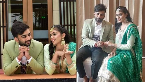 movie writer dheeraj kumar shares his engagement pictures