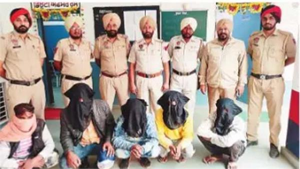 5 boys arrested