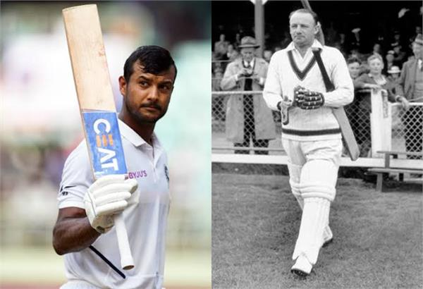 mayank agarwal on the cusp of equalling don bradman in 2nd test vs ban