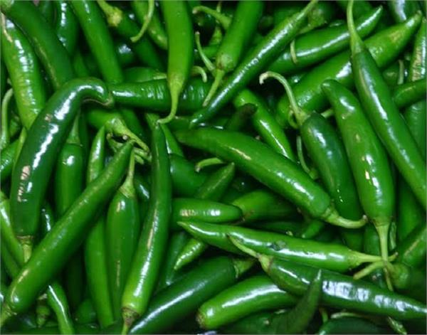 green chilli benefits