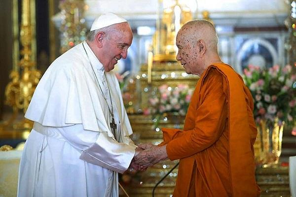 thailand  pope francis