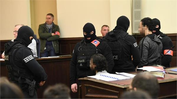 trial against 20 suspects for the 2015 paris attacks