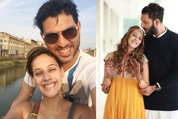 yuvraj and hazel kitch married 3 years ago  yuvi tweeted