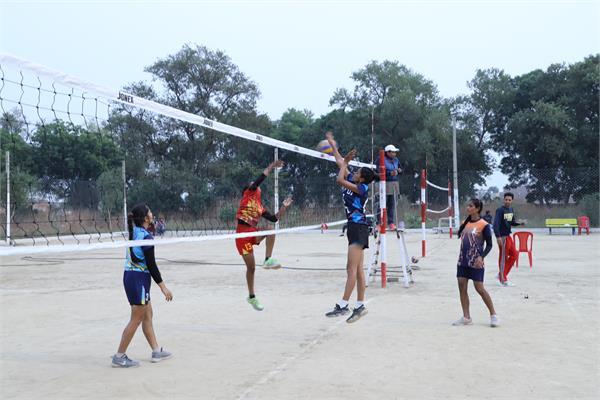 punjab state girls games under 25 patiala has won