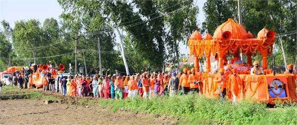 nagar kirtan reaches sultanpur lodhi