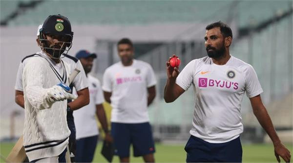 shami can be dangerous on any ball and on any surface  saha