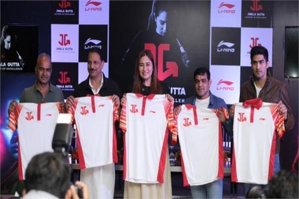champion shuttler from my academy  jawala