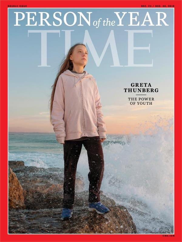 greta thunberg  16  was named person of the year by time magazine