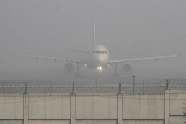 delhi airport 46 flights diverted
