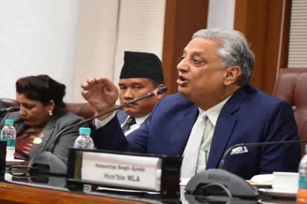 nepalese delegation visits punjab vidhan sabha