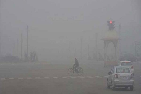 dense fog in delhi zero visibility impact on flights