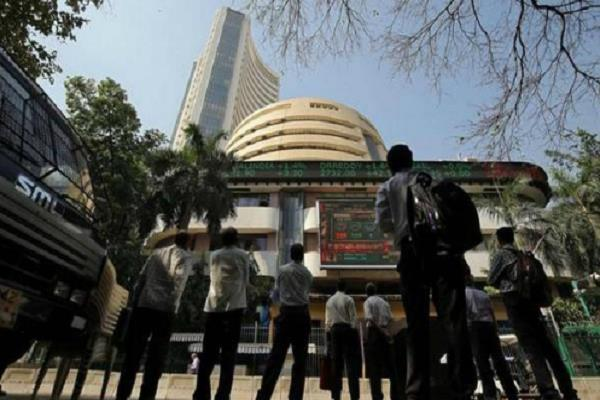 sensex up 100 points nifty close to 12 000 open