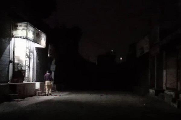 talwandi sabo powercom street lights connection