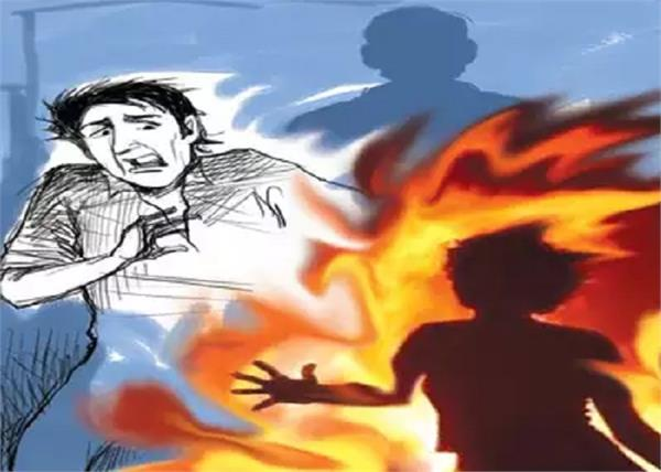 kanpur shopkeeper burnt alive police arrested