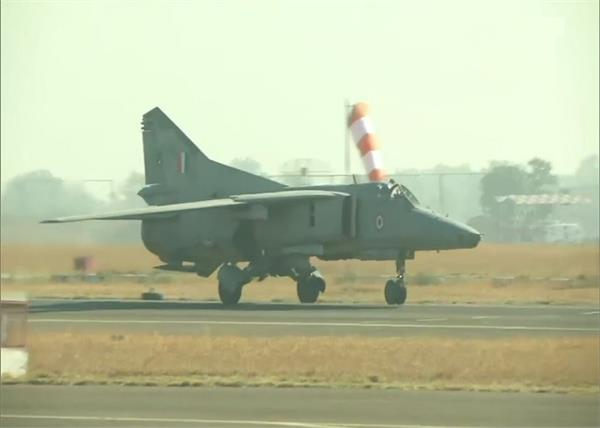 mig 27 retired kargil hero flight jodhpur