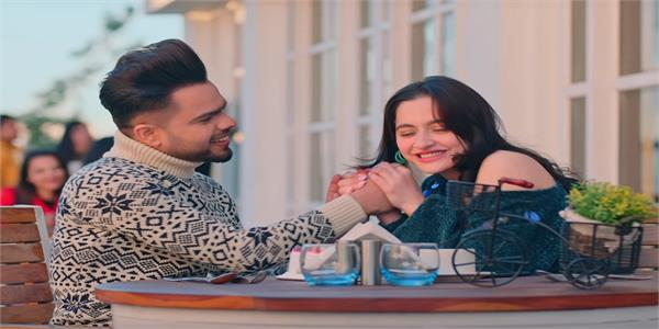 romantic chemistry of akhil sanjeeda sheikh in kalla sohna nai song