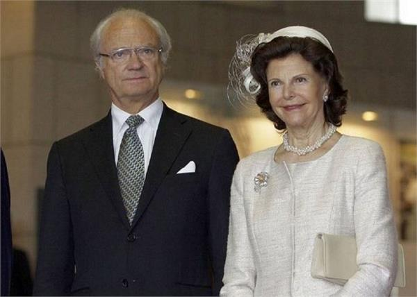 sweden  s royal couple on a five day visit india
