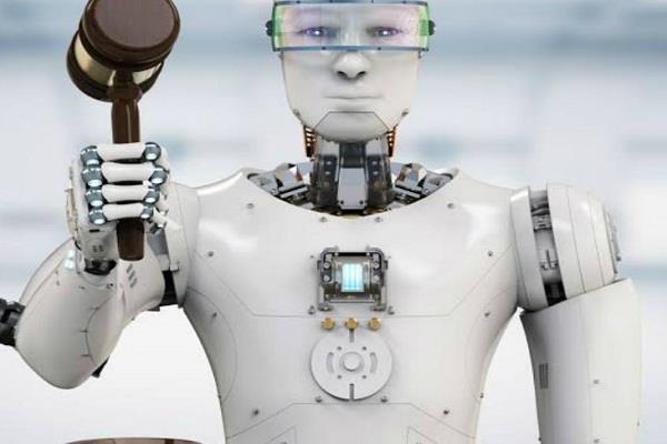 china  robot judge