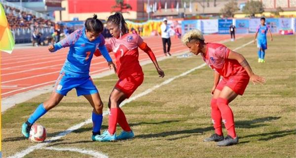 india enter sag 2019 gold medal clash with third straight win