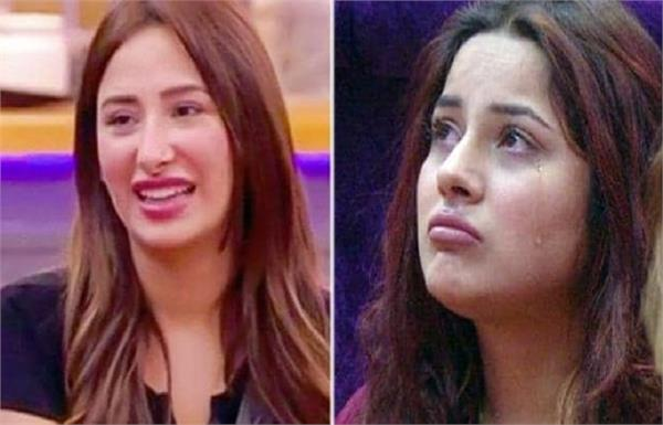 mahira sharma left shehnaaz gill alone after paras chhabra comeback bigg boss