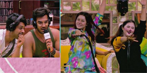 sidharth and paras  makes asim  rashmi shefali and vikas puppet for the task